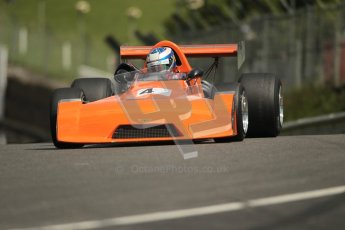 © 2012 Octane Photographic Ltd. HSCC Historic Super Prix - Brands Hatch - 30th June 2012. HSCC Grandstand Motor Sport Historic Formula 2 - Qualifying. Andrew Higgins - Chevron B25. Digital Ref: 0377lw1d9043