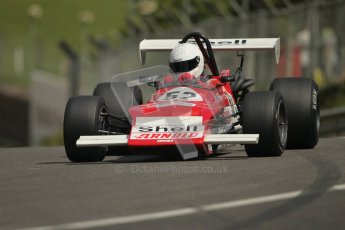 © 2012 Octane Photographic Ltd. HSCC Historic Super Prix - Brands Hatch - 30th June 2012. HSCC Grandstand Motor Sport Historic Formula 2 - Qualifying. Robert Simac - March 712M. Digital Ref: 0377lw1d9047