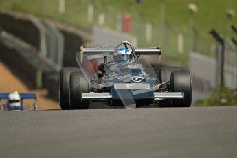 © 2012 Octane Photographic Ltd. HSCC Historic Super Prix - Brands Hatch - 30th June 2012. HSCC Grandstand Motor Sport Historic Formula 2 - Qualifying. Walter Neff - March 712M. Digital Ref: 0377lw1d9050