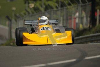 © 2012 Octane Photographic Ltd. HSCC Historic Super Prix - Brands Hatch - 30th June 2012. HSCC Grandstand Motor Sport Historic Formula 2 - Qualifying. Frazer Gibney - March 76B. Digital Ref: 0377lw1d9059
