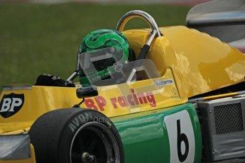 © 2012 Octane Photographic Ltd. HSCC Historic Super Prix - Brands Hatch - 30th June 2012. HSCC Grandstand Motor Sport Historic Formula 2 - Qualifying. Martin Stretton - March 742. Digital Ref: 0377lw1d9079