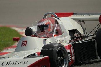 © 2012 Octane Photographic Ltd. HSCC Historic Super Prix - Brands Hatch - 30th June 2012. HSCC Grandstand Motor Sport Historic Formula 2 - Qualifying. Alain Lagache - March 712M. Digital Ref: 0377lw1d9274