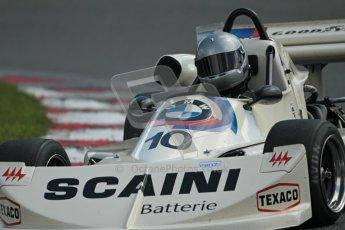 © 2012 Octane Photographic Ltd. HSCC Historic Super Prix - Brands Hatch - 30th June 2012. HSCC Grandstand Motor Sport Historic Formula 2 - Qualifying. Max Blees - March 752. Digital Ref: 0377lw1d9431