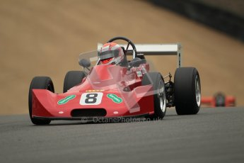 © 2012 Octane Photographic Ltd. HSCC Historic Super Prix - Brands Hatch - 1st July 2012. HSCC - Historic Formula Ford 2000 - Qualifying. Andrew Huxtable - Lola T580. Digital Ref: 0385lw1d1329