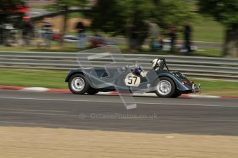 © 2012 Octane Photographic Ltd. HSCC Historic Super Prix - Brands Hatch - 1st July 2012. HSCC - Historic RoadSports - Qualifying. Roddie Feilden - Morgan Plus 8. Digital Ref: 0387lw7d5169
