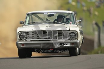 © 2012 Octane Photographic Ltd. HSCC Historic Super Prix - Brands Hatch - 1st July 2012. HSCC - Historic Touring Cars - Qualifying. John Wolfe - Ford Falcon V8. Digital Ref: 0384lw1d1098