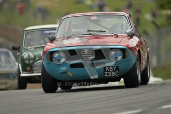 © 2012 Octane Photographic Ltd. HSCC Historic Super Prix - Brands Hatch - 1st July 2012. HSCC - Historic Touring Cars - Qualifying. Nick Savage - Alfa Romeo GTA. Digital Ref: 0384lw1d1207