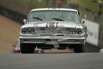© 2012 Octane Photographic Ltd. HSCC Historic Super Prix - Brands Hatch - 1st July 2012. HSCC - Historic Touring Cars - Qualifying. Richard Owen - Ford Galaxie. Digital Ref: 0384lw1d1232