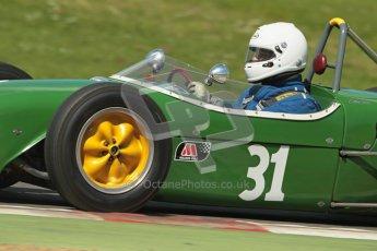 © 2012 Octane Photographic Ltd. HSCC Historic Super Prix - Brands Hatch - 30th June 2012. HSCC - Lurani Trophy - Qualifying. Robert Barrie - Lotus 18. Digital Ref: 0382lw1d8658