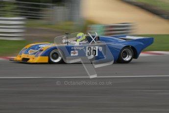 © 2012 Octane Photographic Ltd. HSCC Historic Super Prix - Brands Hatch - 30th June 2012. HSCC - Martini Trophy with SuperSports - Practice. Fleming - Chevron B36. Digital Ref: 0376lw7d4728
