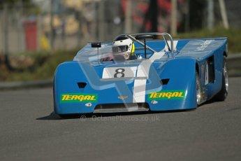 © 2012 Octane Photographic Ltd. HSCC Historic Super Prix - Brands Hatch - 30th June 2012. HSCC - Martini Trophy with SuperSports - Qualifying. Catlow - Chevron B19. Digital Ref: 0378lw1d9448