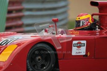 © 2012 Octane Photographic Ltd. HSCC Historic Super Prix - Brands Hatch - 30th June 2012. HSCC - Martini Trophy with SuperSports - Qualifying. John Burton - Chevron B26. Digital Ref: 0378lw1d9566