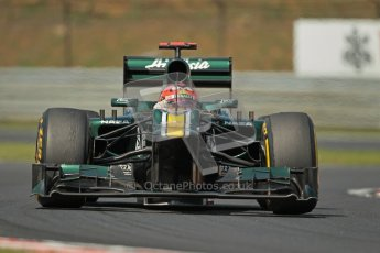 © 2012 Octane Photographic Ltd. Hungarian GP Hungaroring - Sunday 29th July 2012 - F1 Race. Caterham CT01 - Heikki Kovalainen. Digital Ref :