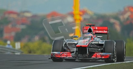 © 2012 Octane Photographic Ltd. Hungarian GP Hungaroring - Friday 27th July 2012 - F1 Practice 1. McLaren MP4/27 - Jenson Button. Digital Ref : 0425lw1d4565