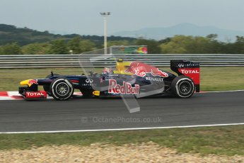 © 2012 Octane Photographic Ltd. Hungarian GP Hungaroring - Friday 27th July 2012 - F1 Practice 1. Red Bull RB8 - Mark Webber. Digital Ref : 0425lw1d4719