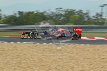 © 2012 Octane Photographic Ltd. Hungarian GP Hungaroring - Friday 27th July 2012 - F1 Practice 1. Toro Rosso STR7 - Jean-Eric Vergne. Digital Ref : 0425lw1d4852
