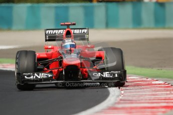 © 2012 Octane Photographic Ltd. Hungarian GP Hungaroring - Friday 27th July 2012 - F1 Practice 1. Marussia MR01 - Timo Glock. Digital Ref :