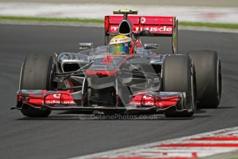 © 2012 Octane Photographic Ltd. Hungarian GP Hungaroring - Friday 27th July 2012 - F1 Practice 1. McLaren MP4/27 - Lewis Hamilton. Digital Ref :