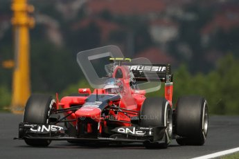 © 2012 Octane Photographic Ltd. Hungarian GP Hungaroring - Friday 27th July 2012 - F1 Practice 1. Marussia MR01 - Charles Pic. Digital Ref : 0425lw7d9590
