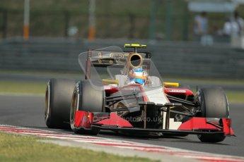 © 2012 Octane Photographic Ltd. Hungarian GP Hungaroring - Saturday 28th July 2012 - F1 Practice 3. HRT F112 - Narain Karthikeyan. Digital Ref : 0429lw1d6721