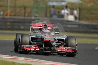 © 2012 Octane Photographic Ltd. Hungarian GP Hungaroring - Saturday 28th July 2012 - F1 Practice 3. McLaren MP4/27 - Jenson Button. Digital Ref : 0429lw1d6739