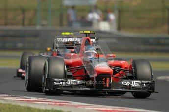© 2012 Octane Photographic Ltd. Hungarian GP Hungaroring - Saturday 28th July 2012 - F1 Practice 3. Marussia MR01 - Charles Pic. Digital Ref : 0429lw1d6789