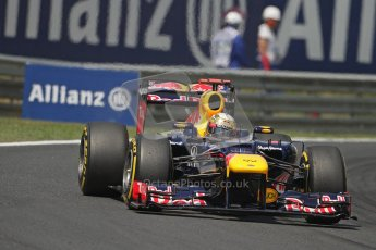 © 2012 Octane Photographic Ltd. Hungarian GP Hungaroring - Saturday 28th July 2012 - F1 Practice 3. Red Bull RB8 - Sebastian Vettel. Digital Ref : 0429lw7d6523