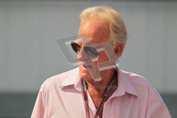 © 2012 Octane Photographic Ltd. Hungarian GP Hungaroring - Sunday 29th July 2012 - F1 Paddock. John Button. Digital Ref : 0437lw1d7566