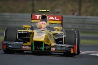 © 2012 Octane Photographic Ltd. Hungarian GP Hungaroring - Friday 27th July 2012 - GP2 Practice - Dams - Felipe Nasr. Digital Ref : 0426lw7d0471