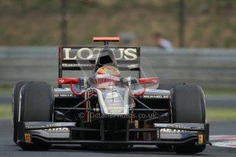 © 2012 Octane Photographic Ltd. Hungarian GP Hungaroring - Friday 27th July 2012 - Lotus GP - James Calado. Digital Ref : 0426lw7d0611