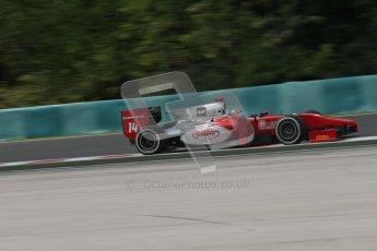 © 2012 Octane Photographic Ltd. Hungarian GP Hungaroring - Friday 27th July 2012 - GP2 Practice - Scuderia Coloni - Stefano Coletti. Digital Ref : 0426lw7d0990
