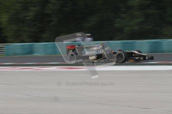 © 2012 Octane Photographic Ltd. Hungarian GP Hungaroring - Friday 27th July 2012 - Lotus GP - Esteban Gutierrez. Digital Ref : 0426lw7d1074
