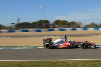 © 2012 Octane Photographic Ltd. Jerez Winter Test Day 1 - Tuesday 7th February 2012. McLaren MP4/27 - Jenson Button. Digital Ref : 0217lw7d3344