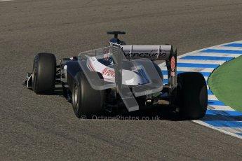 © 2012 Octane Photographic Ltd. Jerez Winter Test Day 1 - Tuesday 7th February 2012. Williams FW34 - Pastor Maldonado. Digital Ref : 0217lw7d3905