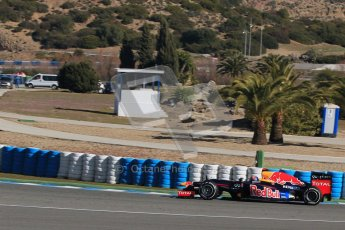 © 2012 Octane Photographic Ltd. Jerez Winter Test Day 1 - Tuesday 7th February 2012. Toro Rosso STR7 - Daniel Ricciardo. Digital Ref : 0217lw7d4212