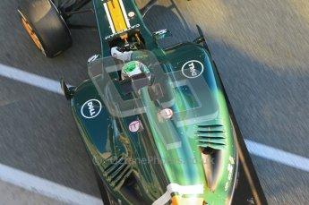 © 2012 Octane Photographic Ltd. Jerez Winter Test Day 2 - Wednesday 8th February 2012. Caterham CT01 - Heikki Kovalainen. Digital Ref : 0218lw1d4878