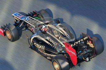 © 2012 Octane Photographic Ltd. Jerez Winter Test Day 2 - Wednesday 8th February 2012. Lotus E20 - Kimi Raikkonen. Digital Ref :  0218lw1d4908