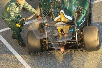 © 2012 Octane Photographic Ltd. Jerez Winter Test Day 2 - Wednesday 8th February 2012. Caterham CT01 - Heikki Kovalainen. Digital Ref : 0218lw1d4951