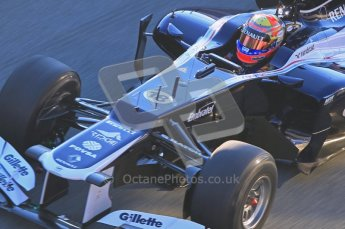 © 2012 Octane Photographic Ltd. Jerez Winter Test Day 2 - Wednesday 8th February 2012. Williams FW34 - Pastor Maldonado. Digital Ref : 0218lw1d4986