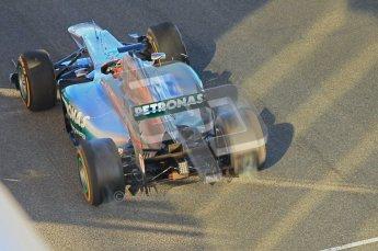 © 2012 Octane Photographic Ltd. Jerez Winter Test Day 2 - Wednesday 8th February 2012. Mercedes MGP W02 - Michael Schumacher. Digital Ref : 0218lw1d5048