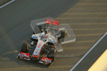© 2012 Octane Photographic Ltd. Jerez Winter Test Day 2 - Wednesday 8th February 2012. McLaren MP4/27 - Jenson Button. Digital Ref : 0218lw1d5100