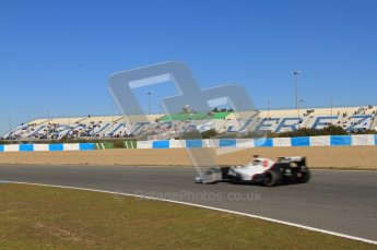 © 2012 Octane Photographic Ltd. Jerez Winter Test Day 2 - Wednesday 8th February 2012. Sauber C31 - Sergio Perez. Digital Ref : 0218lw7d3718