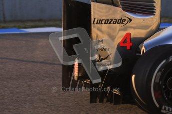 © 2012 Octane Photographic Ltd. Jerez Winter Test Day 4 - Friday 10th February 2012. McLaren MP4/27 - Lewis Hamilton. Digital Ref : 0221lw1d8046