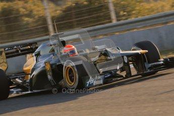 © 2012 Octane Photographic Ltd. Jerez Winter Test Day 4 - Friday 10th February 2012. Caterham CT01 - Jarno Trulli. Digital Ref : 0221lw1d8169