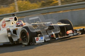 © 2012 Octane Photographic Ltd. Jerez Winter Test Day 4 - Friday 10th February 2012. Sauber C31 - Kamui Kobayashi. Digital Ref : 0221lw1d8181