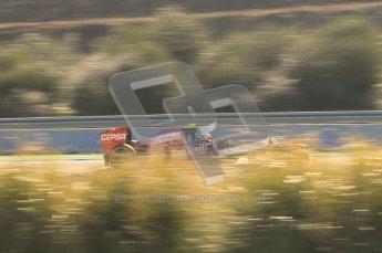 © 2012 Octane Photographic Ltd. Jerez Winter Test Day 4 - Friday 10th February 2012. Toro Rosso STR7 - Jean-Eric Vergne. Digital Ref : 0221lw1d9016