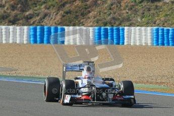 © 2012 Octane Photographic Ltd. Jerez Winter Test Day 4 - Friday 10th February 2012. Sauber C31 - Kamui Kobayashi. Digital Ref : 0221lw1d9311