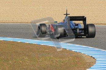 © 2012 Octane Photographic Ltd. Jerez Winter Test Day 4 - Friday 10th February 2012. McLaren MP4/27 - Lewis Hamilton. Digital Ref : 0221lw1d9524