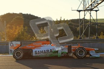 © 2012 Octane Photographic Ltd. Jerez Winter Test Day 4 - Friday 10th February 2012. Force India VJM05 - Nico Hulkenberg. Digital Ref : 0221lw7d4166