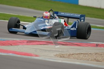 © Octane Photographic Ltd. Masters Racing – Pre-season testing – Donington Park, 5th April 2012. Single-seater classes, Tyrrell , Historic F1. Digital Ref : 0271cb1d0703